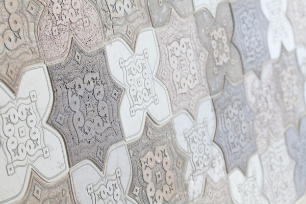 Palladio Collection. Natural marble engravings. Mosaic. Stunning traditional design. craft.