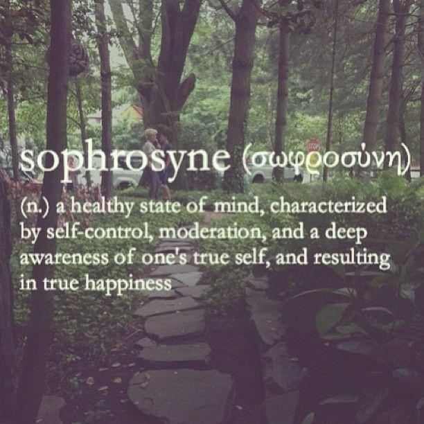 Sophrosyne: Greek goddess of self-control, moderation, and self-awareness