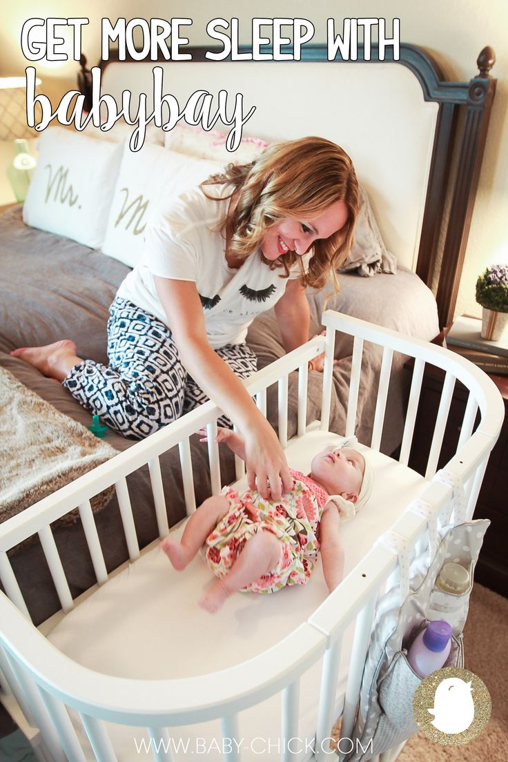 Baby cribs keep your baby close - Get More Sleep With Babybay Baby