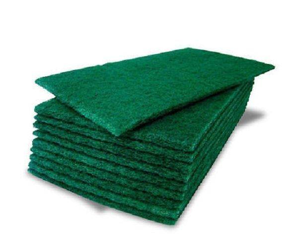60 Green Pack Green Kitchen Catering Sponge Scourer Pads Cleaning