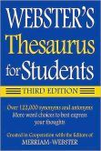 Webster's Thesaurus for Students, 3rd Edition