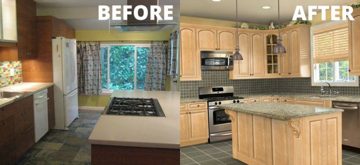 cheap kitchen makeover ideas before and after 25 best images about kitchens before and after on 27679