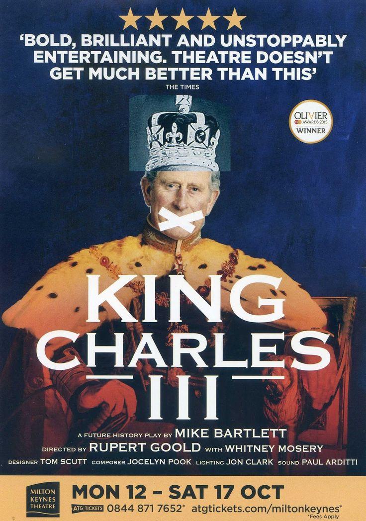 Easy Retirement: King Charles III at Milton Keynes Thaetre