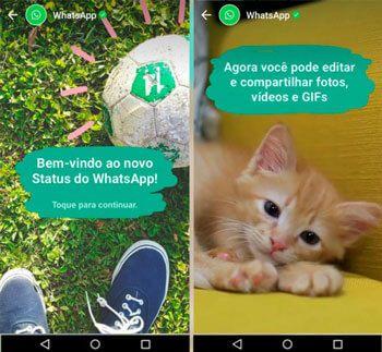 Você já sabe usar o novo Status do WhatsApp