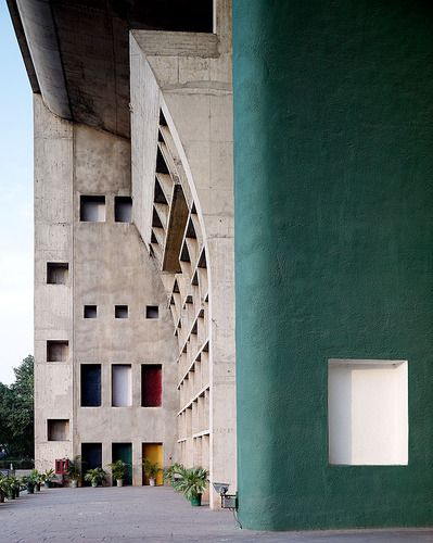 Le Corbusier | Palace of Justice, 1952, Chandigarh, India