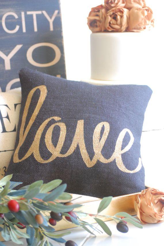 Lovepillowweddingboudoir pillow home by TheBurlapCottage on Etsy