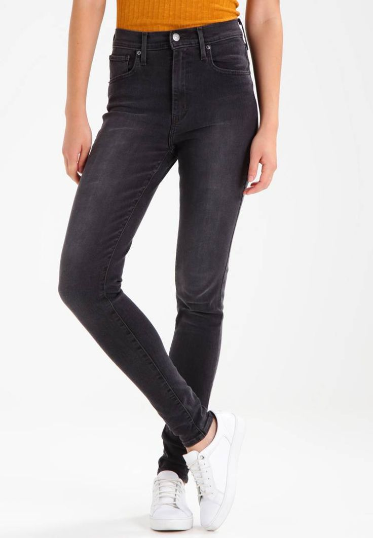 """Levi's®. MILE HIGH SUPER SKINNY - Jeans Skinny Fit - real deal. Fit:skinny. Outer fabric material:55% cotton, 22% polyester, 21% viscose, 2% spandex. Our model's height:Our model is 69.5 """" tall and is wearing size 27x32. Care instructions:machine wash at 30°C. ..."""