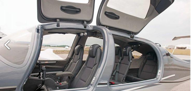 Diamond DA62 interior