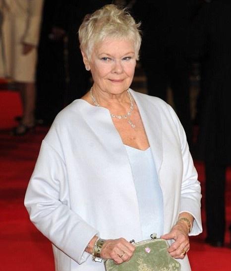 Dame Judi Dench - Skyfall Premier