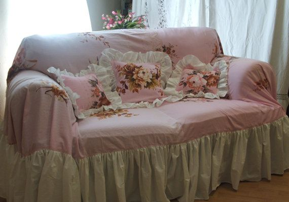 26 Best Images About Shabby Chic Sofa On Pinterest