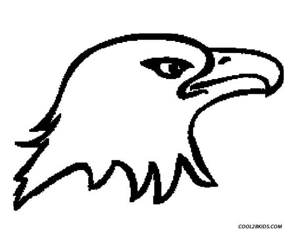 Printable Eagle Coloring Pages For Kids