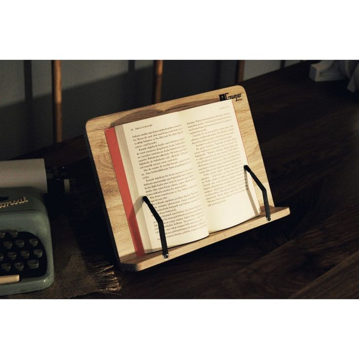 Reading stand for your pleasant moments.
