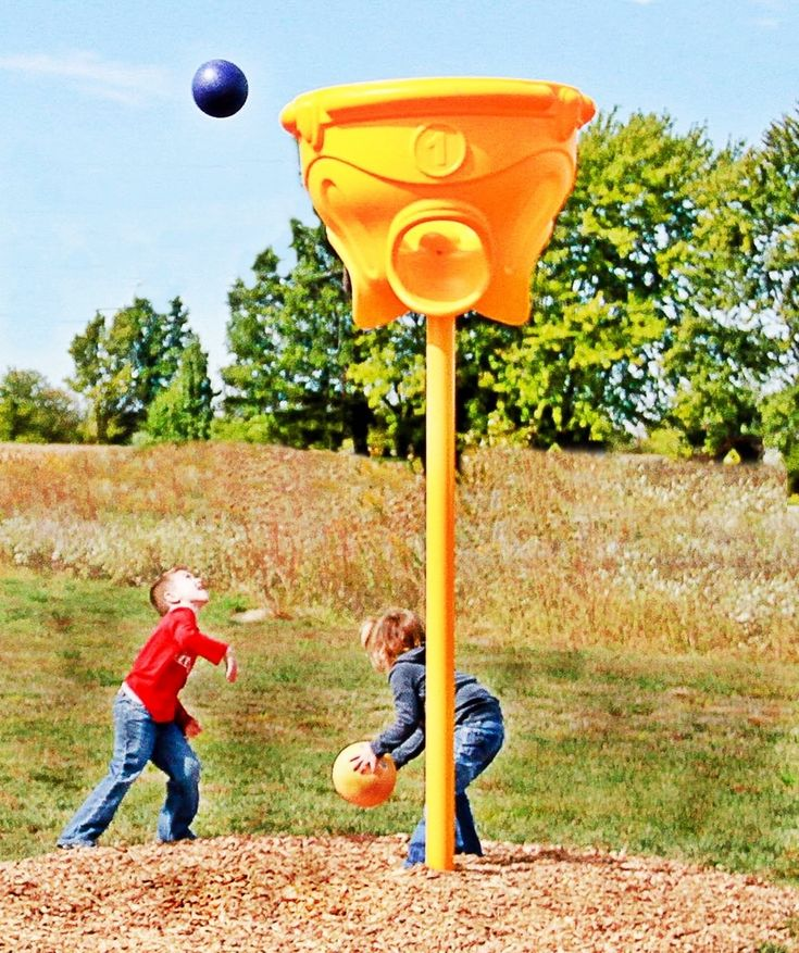 Noahs Park and Playgrounds - Funnel Ball Game, $715.00 (http://noahsplay.com/playground-equipment-needs/church-playgrounds/funnel-ball-game/)