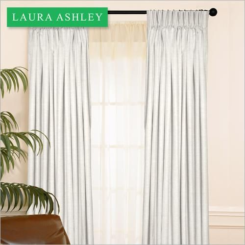 Stylish pencil pleat draperies will give your home the luxurious feel of years past. Choose draperies or other cordless window coverings in homes with small children for safety.