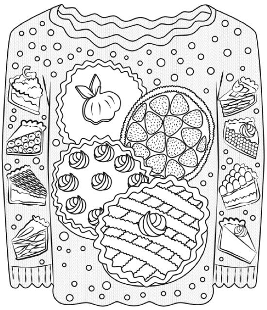 22 Christmas Coloring Books To Set The Holiday Mood Adult PagesFree