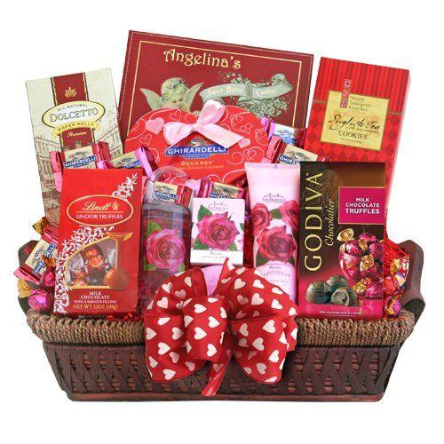 42 best Valentines Gifts baskets images on Pinterest   Valentine ...