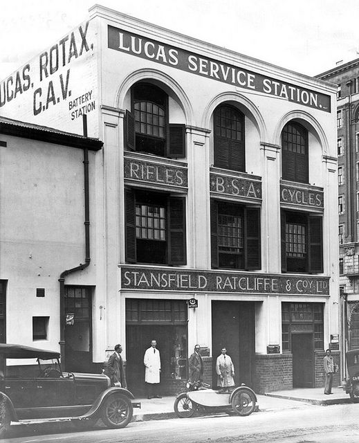 B.S.A Building Cape Town, in 1916 Stansfield Ratcliffe & Co. Ltd. 8 Waterkant Street. | Flickr - Photo Sharing!