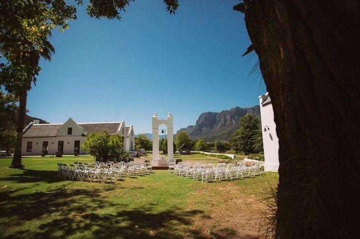 Gorgeous winelands ceremony Www.ido4u.co.za