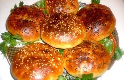 petits pains farcis aux champignons