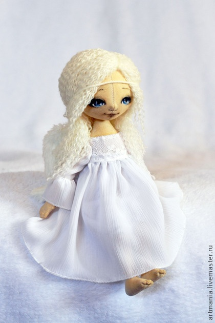 Коллекционные куклы ручной работы. Ярмарка Мастеров - ручная работа Ангел для Светланы. Handmade.