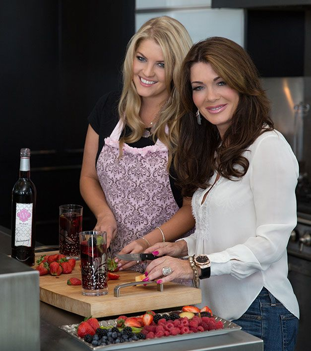 Lisa Vanderpump and her daughter Pandora seen in  FINE Magazine's  November issue. Read it now on www.FINEHomesandLiving.com