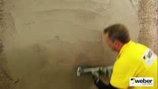 Putsa ytterväggar 2 WeberSverige - YouTube
