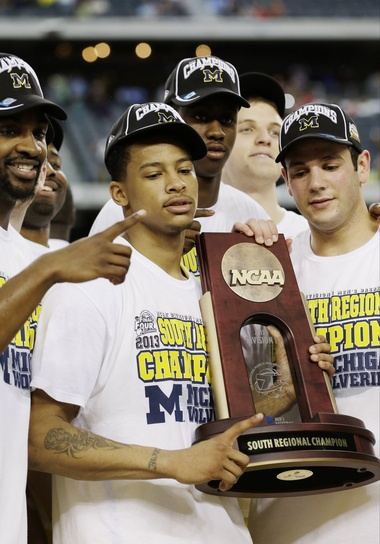 Trey Burke is Michigan's first AP All-American (first team) since Chris Webber in 1993