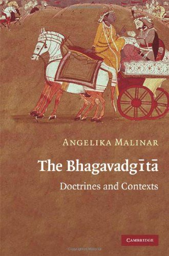 The Bhagavadgita Doctrines and Contexts -- You can find more details by visiting the image link.