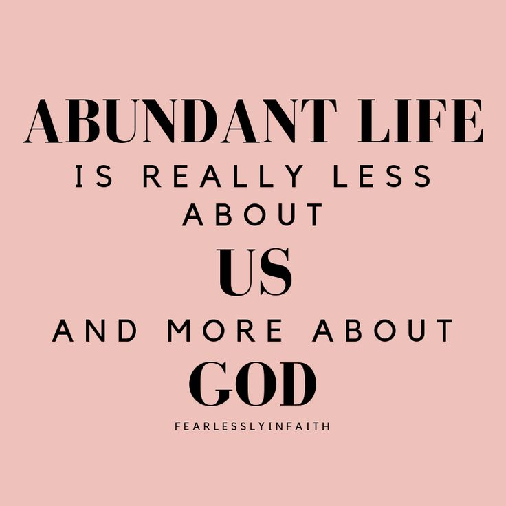 Abundant Life What is It & How to Find It Fearlessly in