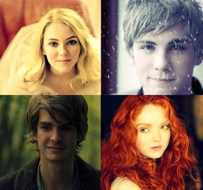 """the big four in """"real life"""" Rapunzel, Jack Frost, hiccup, Merida.....YESS, THIS IS SO PERFECT"""