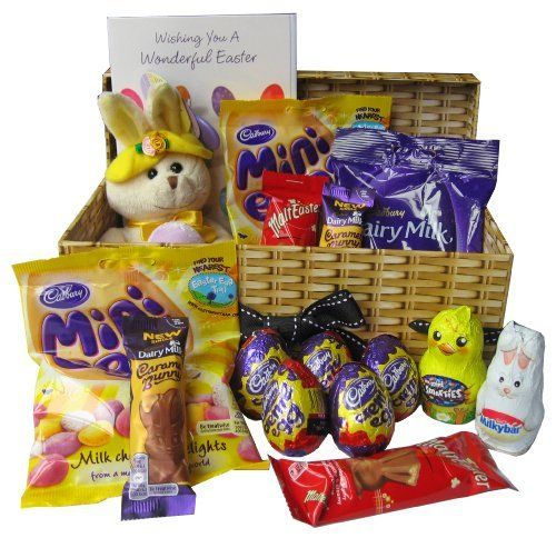 Best 25 chocolate hampers uk ideas on pinterest sweet hampers easter chocolate hamper by shaws wholesalers httpamazon negle Image collections