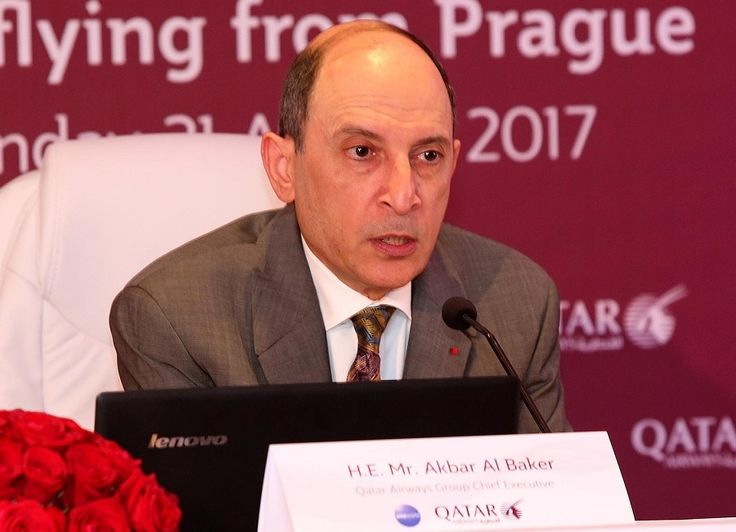 Qatar Airways' Al Baker New IATA Chairman from 2018.