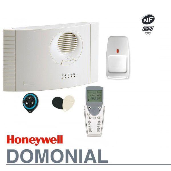Le systèmes du0027alarme sans fil Honeywell Domonial intègre la centrale