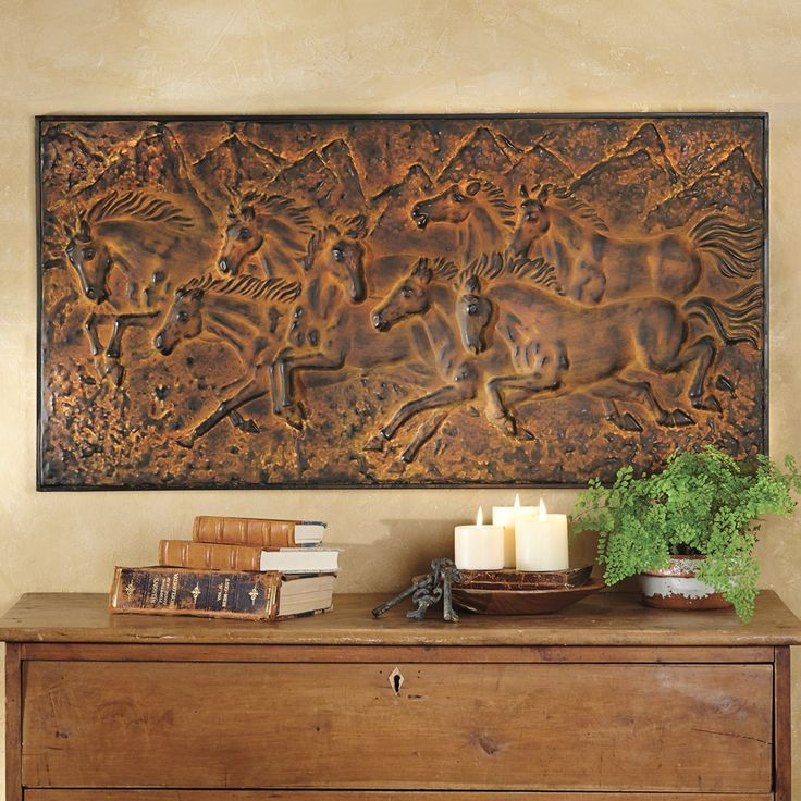Mountain run horse western wall plaque southwestern decor you can get additional details at the image link