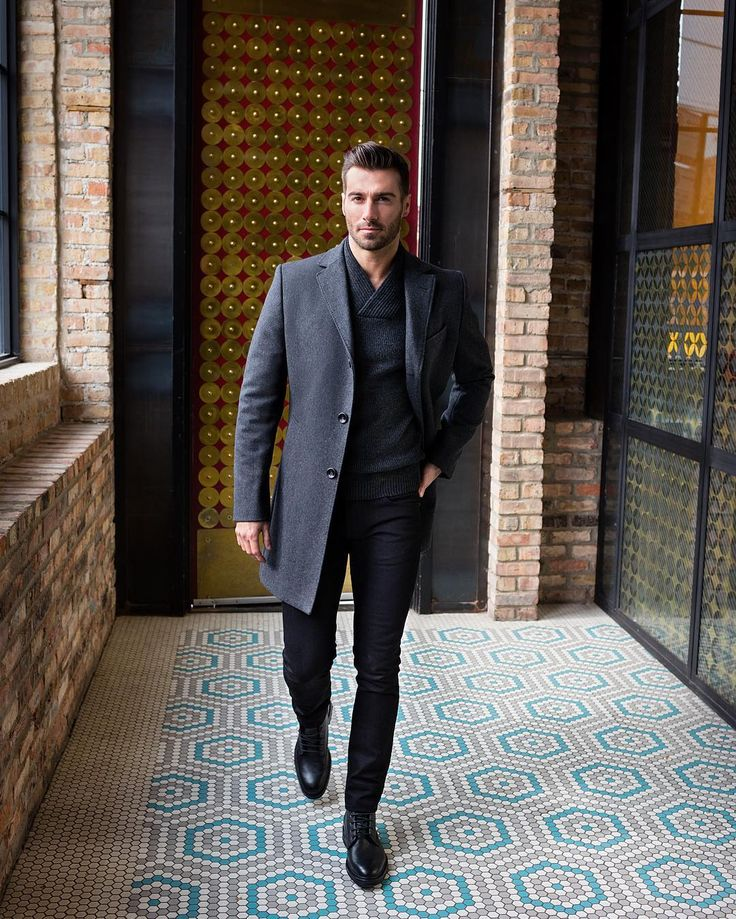 Trunk Club adds a topcoat to our J BRAND Tyler Slim Fit.