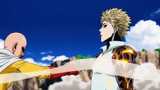 Anime Zodiac. ✨ - One Punch Man: Saitama y Genos. - Wattpad