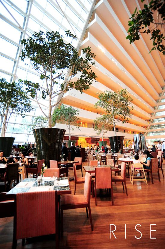 Rise Buffet Restaurant Marina Bay Sands, Singapore. Best buffet in the world.