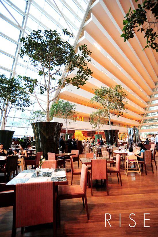 Rise Buffet Restaurant Marina Bay Sands, Singapore. Best buffet in the world.