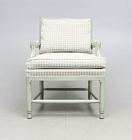 145817. KARMSTOL, K. A. ROOS, Gripsholmsmodell, 1900-tal. – Auctionet