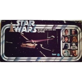 Had this game as a kid! Star Wars Escape From Death Star 1977 Board Game