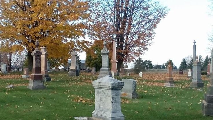 The graveyard where Baby Hugh is buried