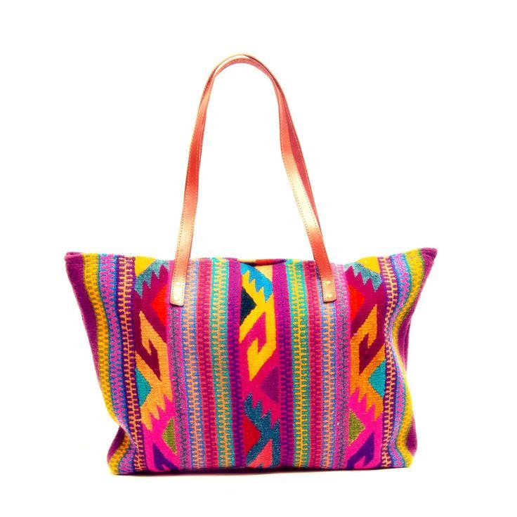 Handwoven Tote - Wayuu Tribe – MOCHILA WAYUU BAGS | Handmade by the Wayuu People
