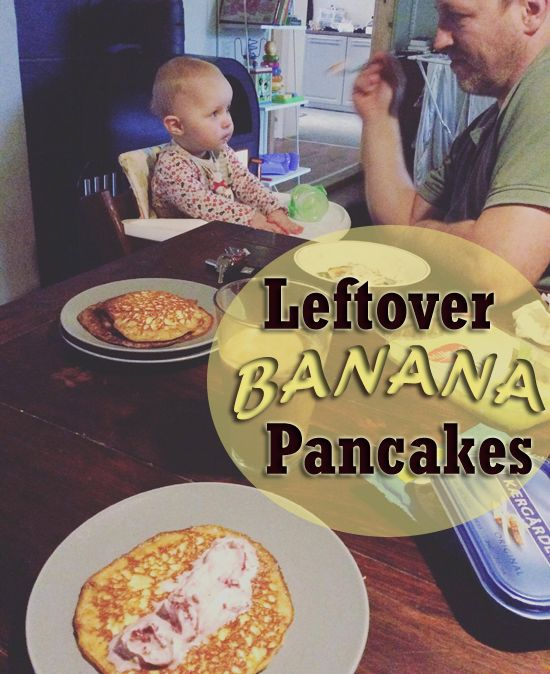 What to do with all the leftover banana, your baby won't eat?! Save it and make some delicious pancakes later! Who says pancakes have to be for breakfast?! We enjoy them as an afternoon snack and so can you! Visit my blog: www.naturemama.net to see the recipe and get inspiration on how to live a natural and healthy family lifestyle