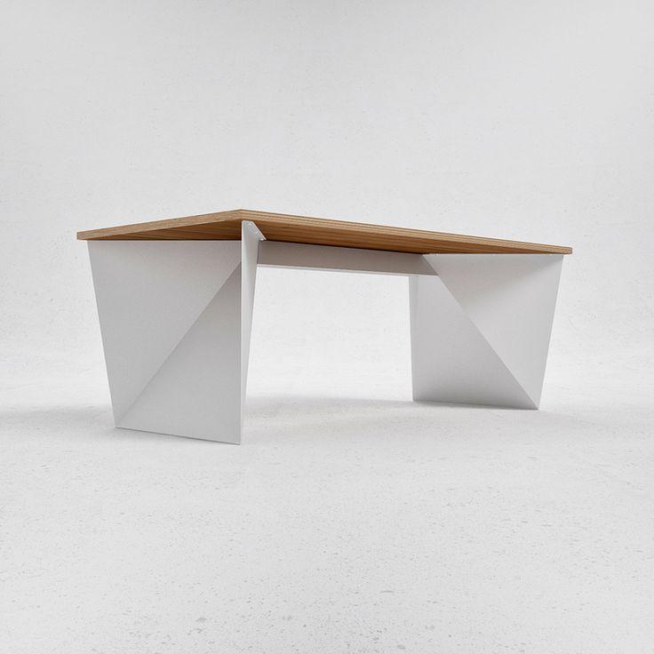 Q6 table by Ukrainian design bureau ODESD2. Designer: Valentyn Luzan.