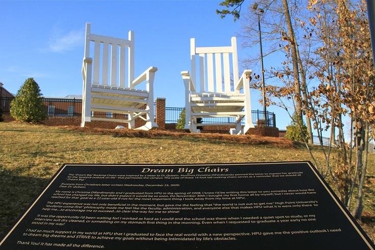 January 2 2011 Dream Big Chairs High Point University Panther Pride