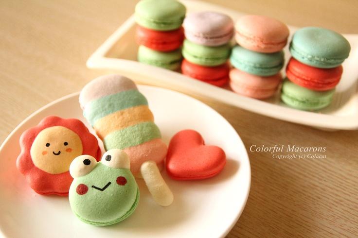 Colorful Macarons  Copyright (c) Colacat