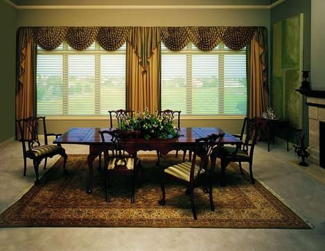 1000 images about window blinds treatments on pinterest for Best window treatments for casement windows