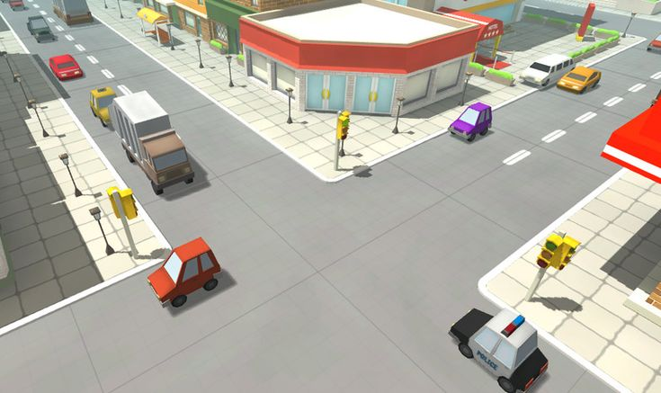 Cartoon Cars and Vehicles Pack for Unity @ Unity Asset Store
