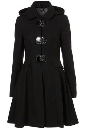 Hooded Clasp Coat