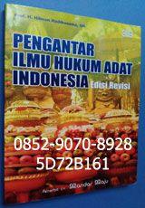 """0852-9070-8928, toko buku online, 5D72B161, jual buku bekas. BUKU PENGANTAR ILMU HUKUM ADAT INDONESIA, by Prof. H. Hilman Hadikusuma, SH Maksud dan tujuan diterbitkannya buku berjudul """"Pengantar Ilmu Hukum Adat Indonesia"""" ini adalah, untuk dapat memberikan bahan pegangan bagi para mahasiswa yang baru mulai mempelajari hokum adat di perguruan tinggi, disamping menambah kepustakaan hokum adat di Indonesia. Oleh karena itu sifatnya hanya sebagai pengantar, maka uraiannya tidak mendalam."""